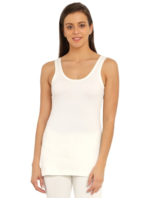 Jockey  Womens Off White Thermal Camisole (S,Off White)