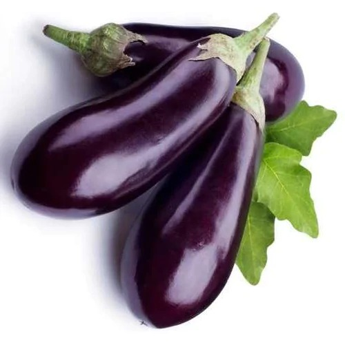 Fresh Black Bharta Brinjal / Wange (1 KG)