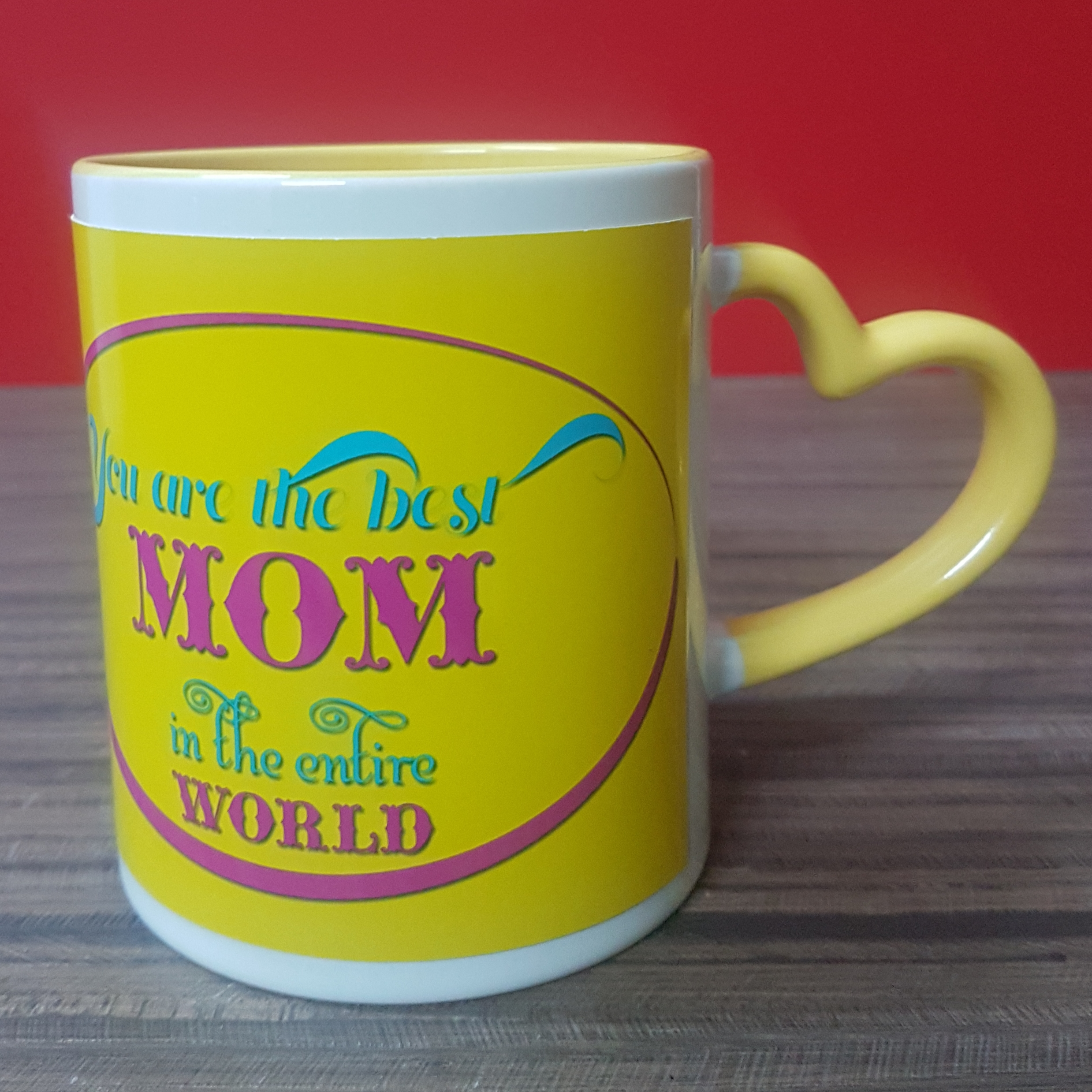 You Are The Best Mom Personalise Mug (Yellow)
