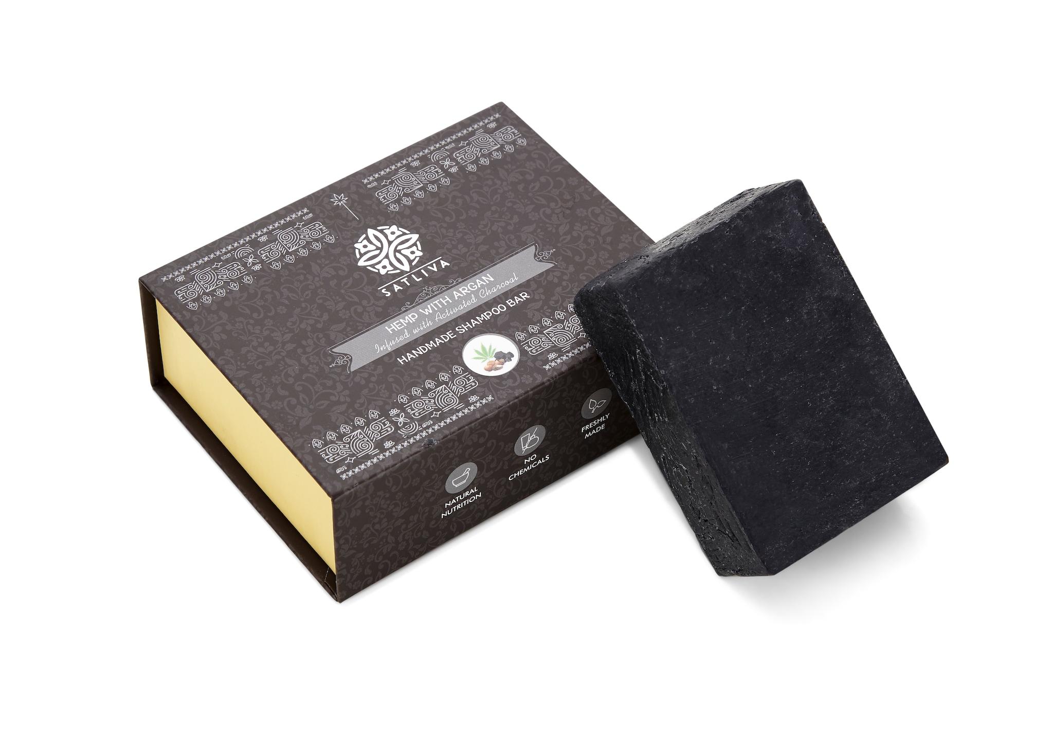 Satliva Hemp With Argan Shampoo Bar (100g)