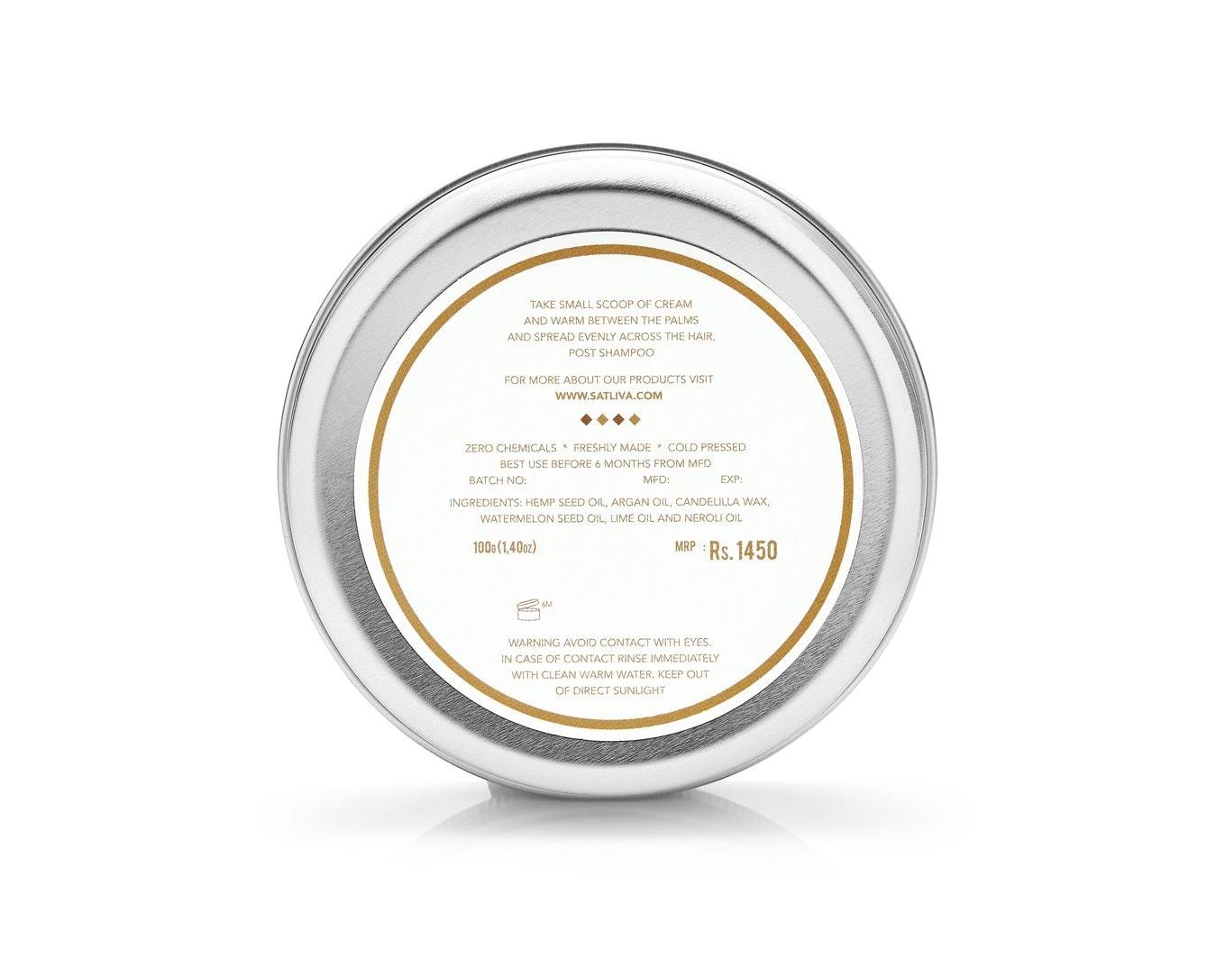 Satliva Cannmelon Hair Cream (100g)