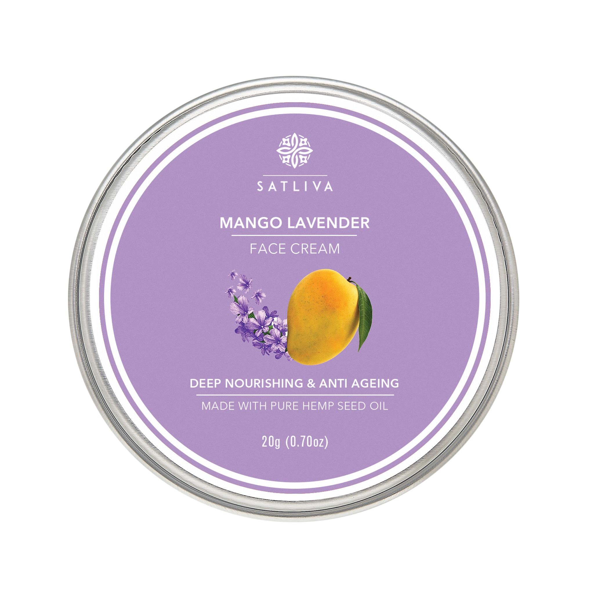 Satliva Mango Lavender Face Cream (20g)