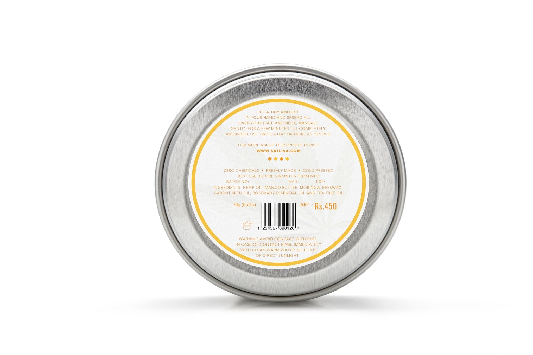 Satliva Mango Rosemary Face Cream (20g)