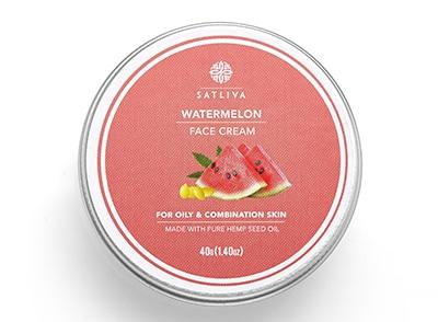 Satliva Watermelon Face Cream (40g)