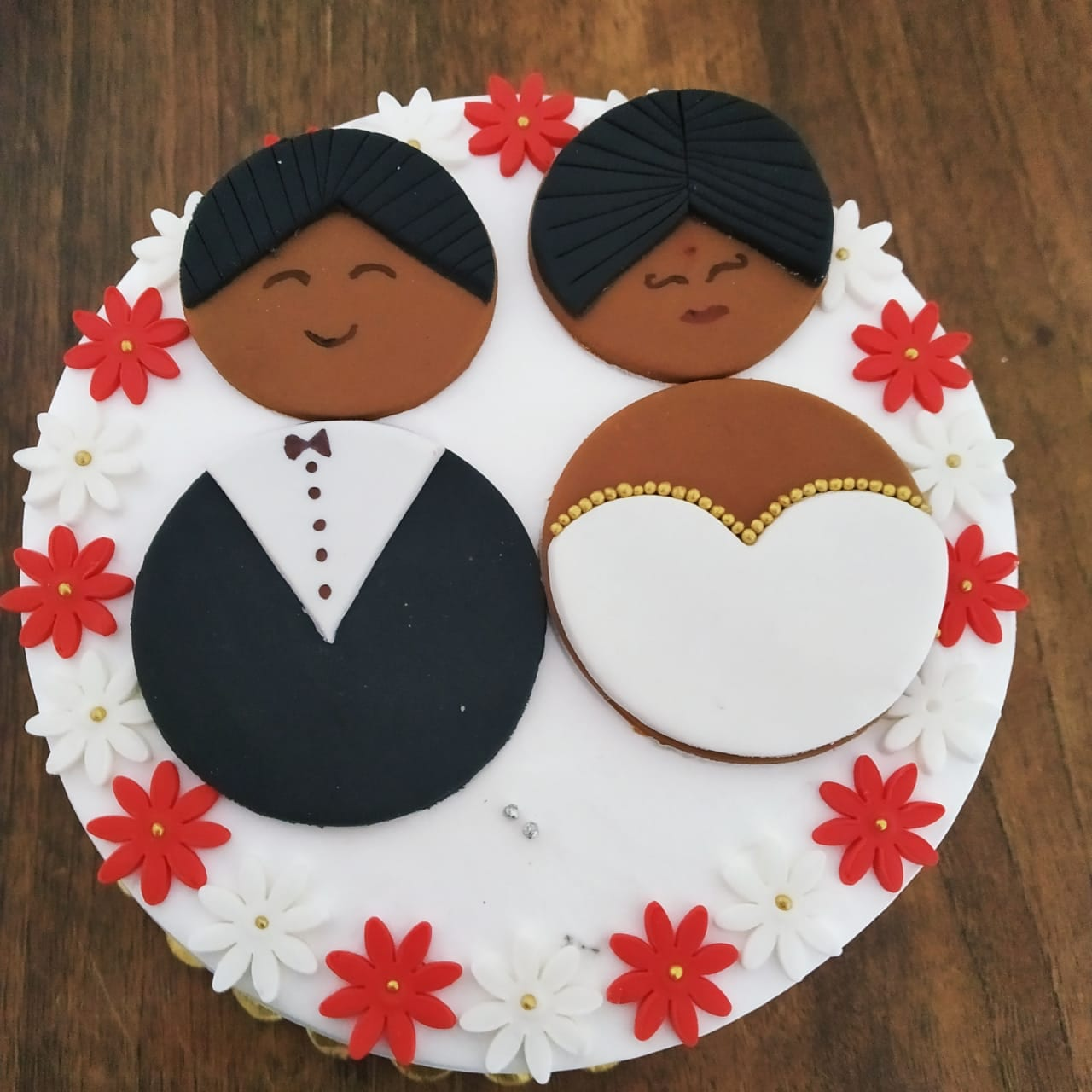 Anniversary Cake (500 Gm,Chocolate)