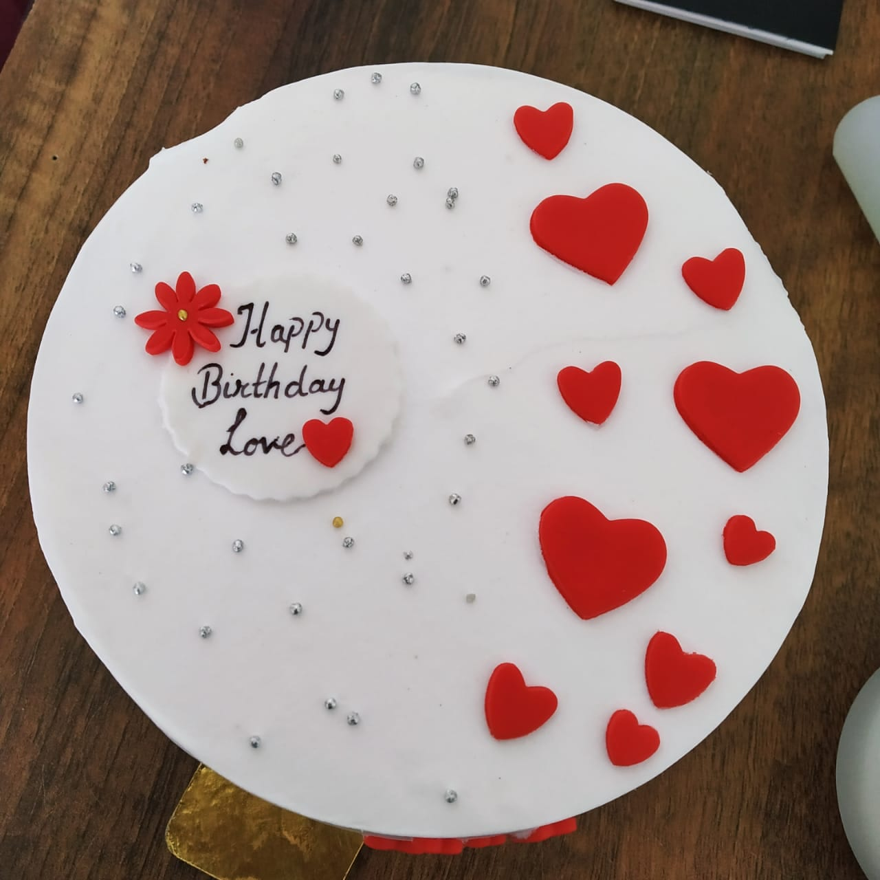 Couple Cake (500 Gm,Chocolate)