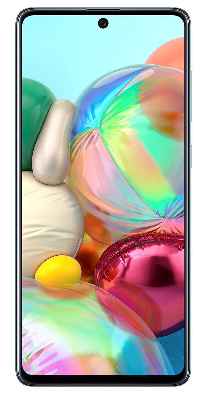 Samsung Galaxy A71 (RAM 8 GB, 128 GB, Prism Crush Blue)