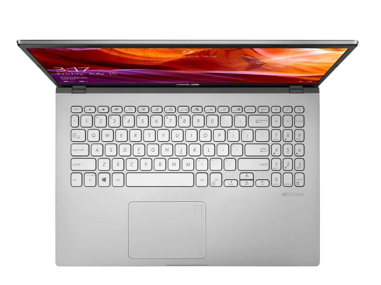 Asus Vivobook 15 X509UA-EJ245T - Intel Pentium Gold 4417U 2.3 GHz, 4GB DDR4, 256GB SSD NVME, 15.6 Full HD, Intel HD 610 Graphics, Windows 10 Home, Chiclet Keyboard, 1.9 S, Transparent Silver