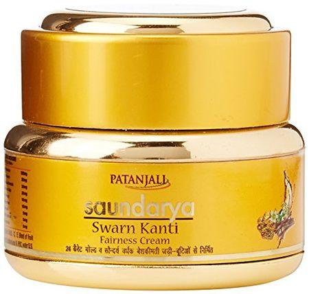 Patanjali Swarn Kanti Fairness Cream - 15 Gm