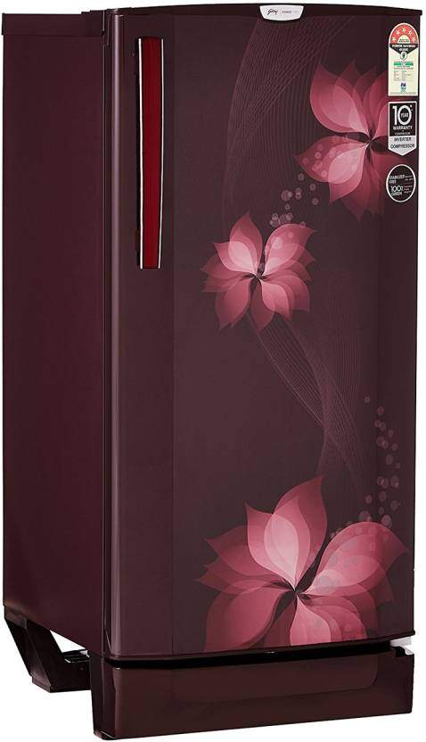 Godrej 190 L Direct Cool Single Door 5 Star Refrigerator(Breeze Magenta, R D EPRO 205 TAI 5.2 BRZ MGT)