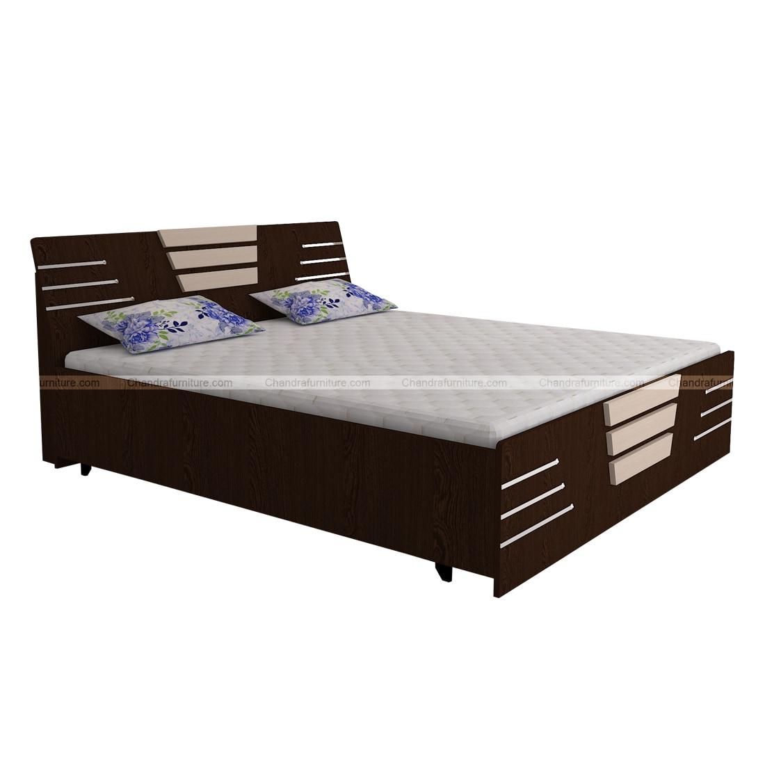 Chandra Furniture King Size Bed-25 Viva