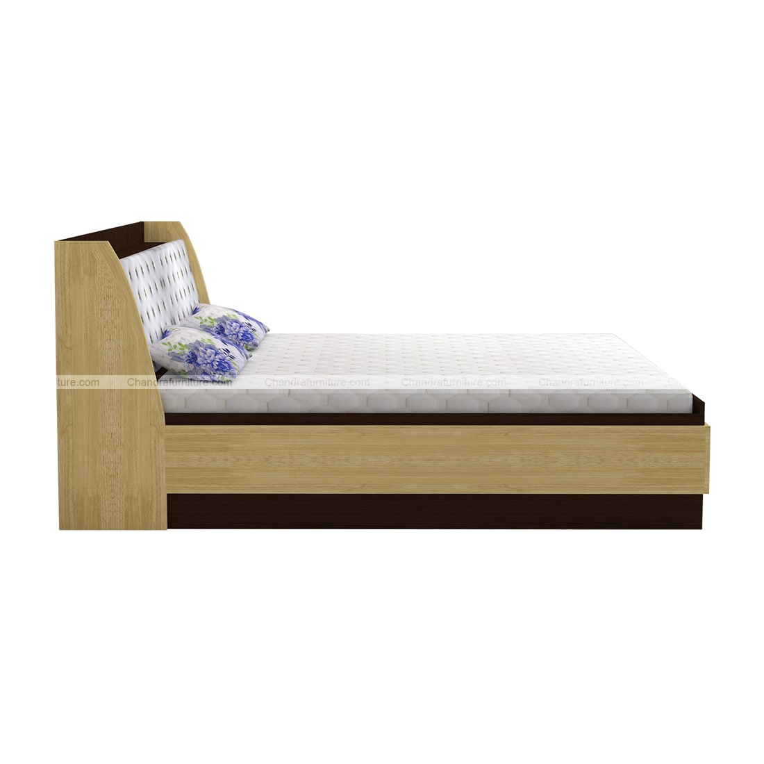 Chandra Furniture King Size Bed - Counter (With Storage In Head Panel )