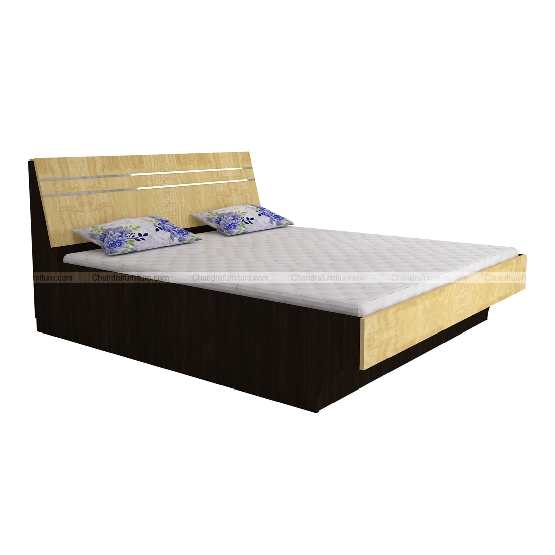 Chandra Furniture King Size Bed - Classic Curve