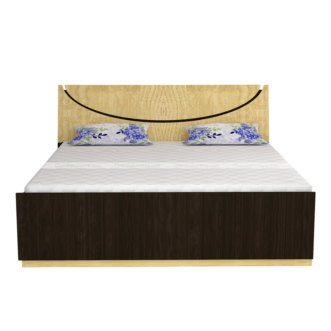 Chandra Furniture King Size Bed - Smile