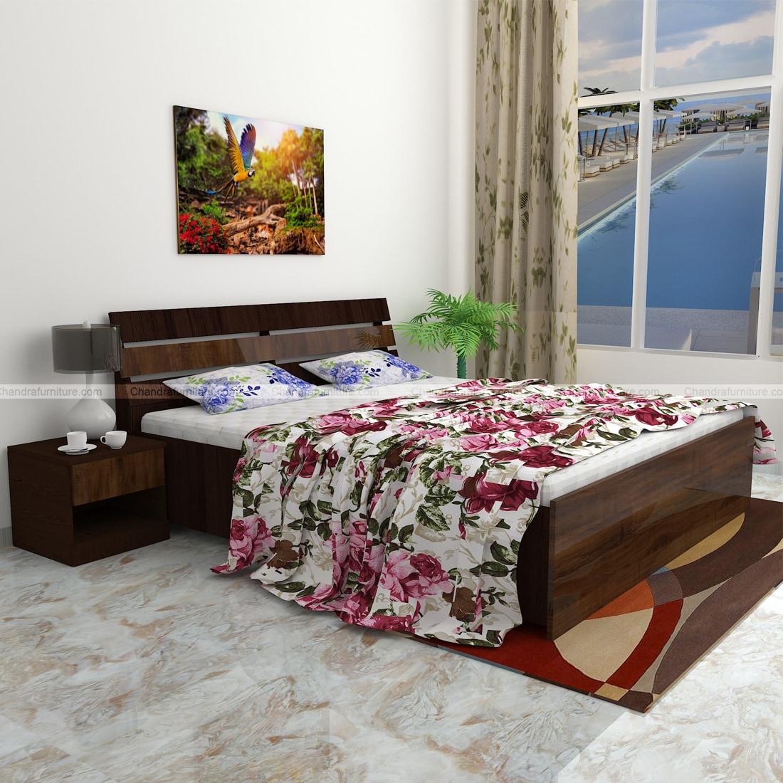 Chandra Furniture King Size Bed -60 Duke