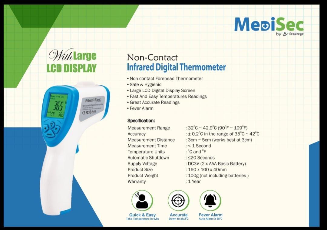 Medisec Infrared Digital Thermometer