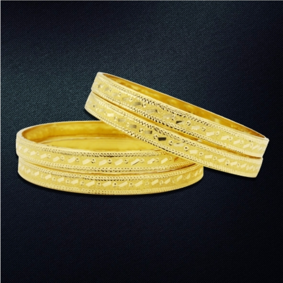 JESSY GOLD BANGLE 18K HM750