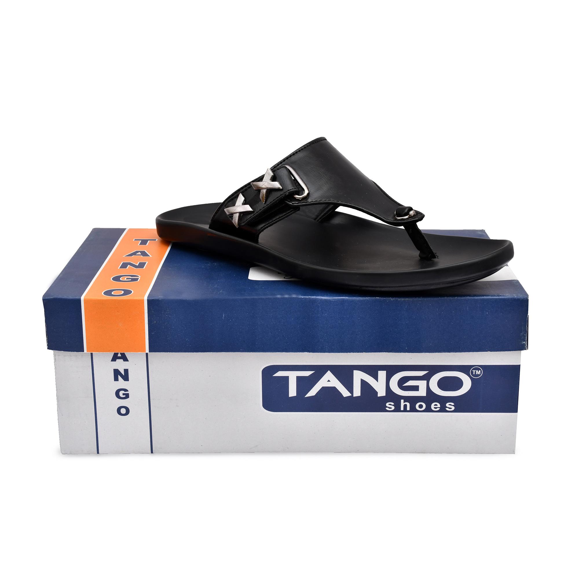 Trendy Stylish Men's Slippers Chappals 95_MALE_CHAPPAL_BLACK_1_A (BLACK, 7 to 10, PAIR'S)