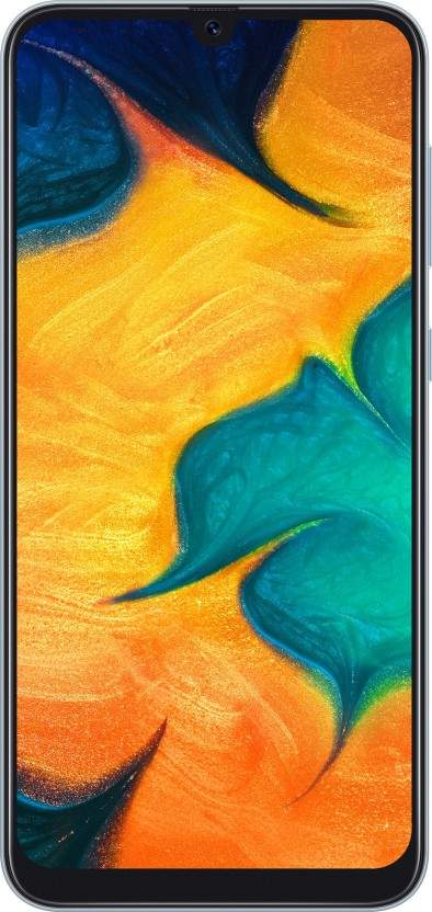 Samsung Galaxy A30 (RAM 4 GB, 64 GB, White)