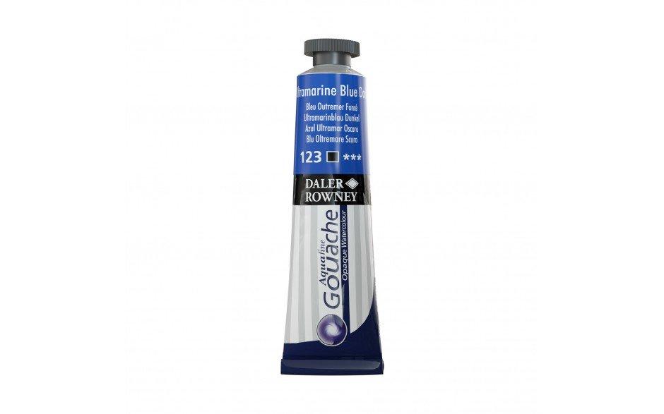 Daler Rowney Aquafine Gouache 15 ML Ultramarine Blue Dark (136015123)