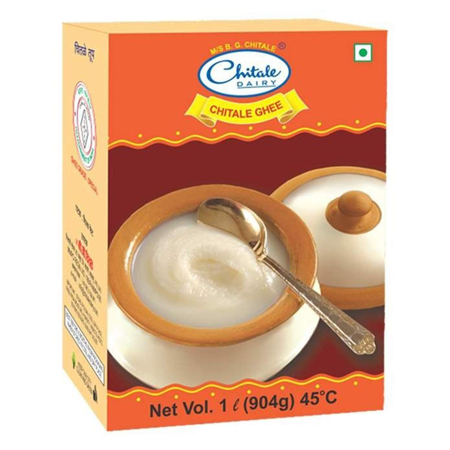 Chitale Dairy Ghee Box : 1 Litre