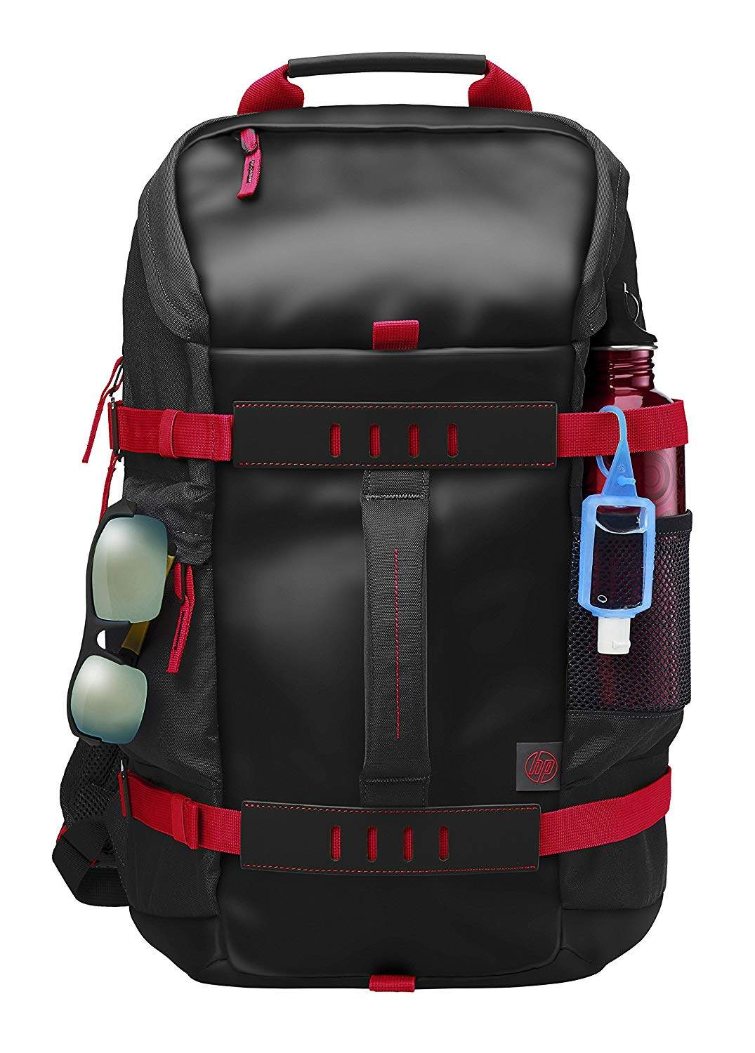 HP Montego X0R83AA#UUF Backpack For 15.6-inch Laptops (Red And Black)