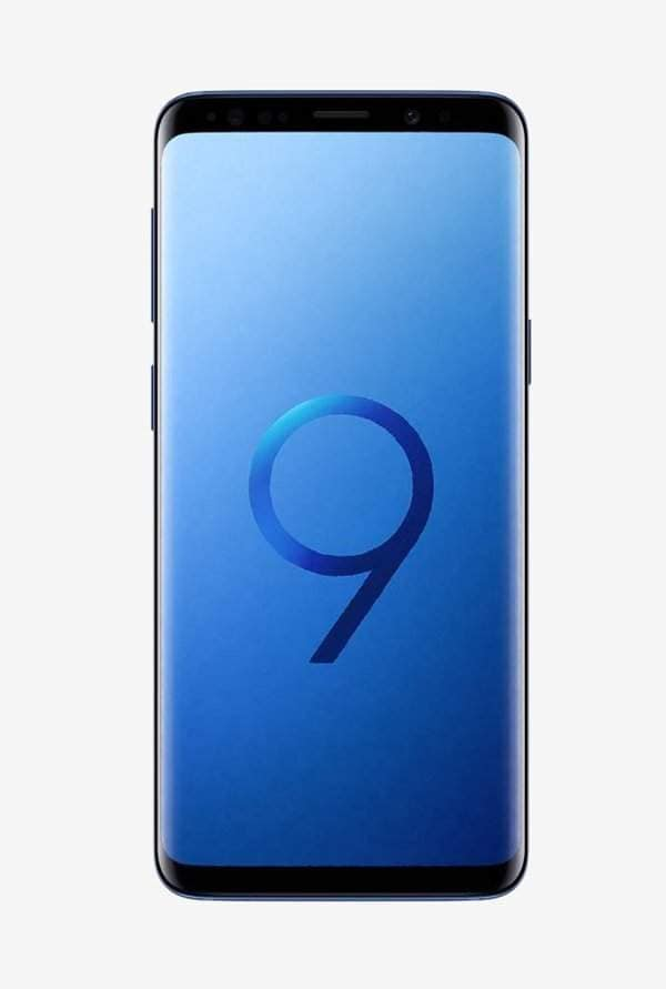 Samsung Galaxy S9 Plus 256 GB (Coral Blue) 6 GB RAM, Dual SIM 4G - SMART VALUE