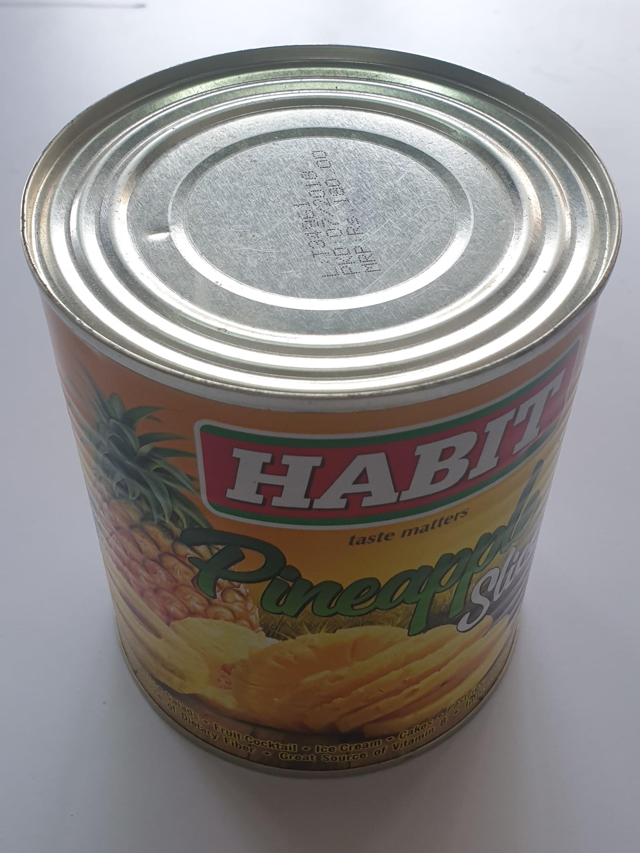 Habit Pineapple  Slice -850