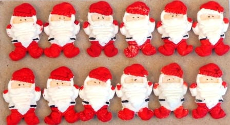 Mini Santa Full Sugarcraft