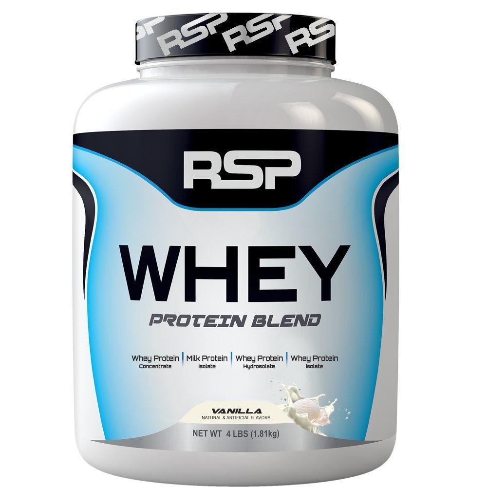 RSP Whey 4lbs(Vanilla)