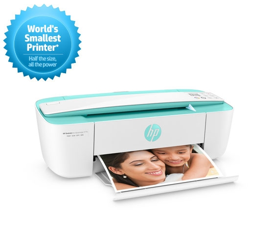 HP DeskJet Ink Advantage 3776 Multi-Function Color All In One Printer (White, Green)