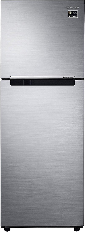 Samsung RT28M3022S8 Frost Free Double Door Refrigerator (253 Litres, 2 Star, Elegant Inox)