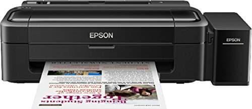 Epson L130 Single Function Color Inkjet Printer (Black)