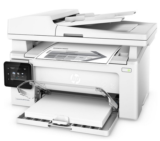 HP G3Q65A LaserJet Pro MFP M132fw Multi-Function Print Color Laser Printer