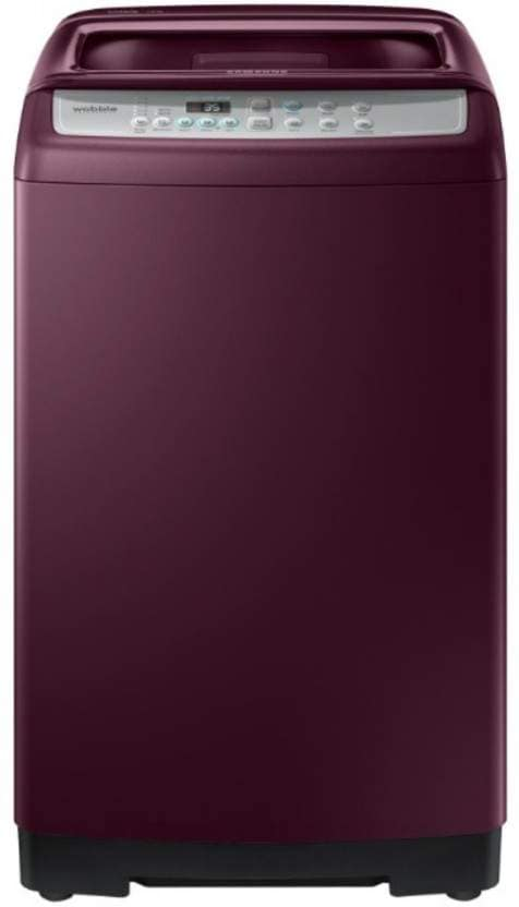 Samsung 7 Kg Fully-Automatic Top Loading Washing Machine (WA70M4300HP/TL, Maroon)
