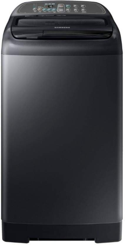 Samsung 7 Kg Fully-Automatic Top Loading Washing Machine (WA70M4400HV/TL, Black)