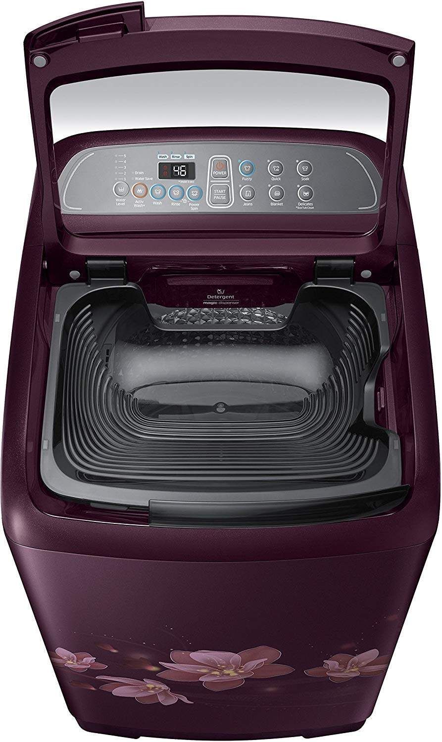 Samsung 7 Kg Fully-Automatic Top Loading Washing Machine (WA70M4020HP/TL, Magnolia Plum)