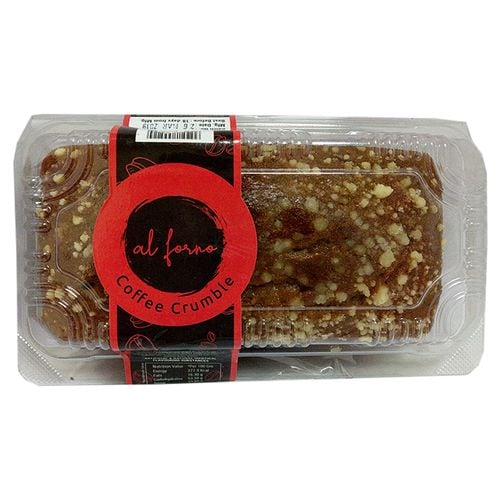 Al Forno Coffee Crumble Bar Cake (Tray) 230 Gm