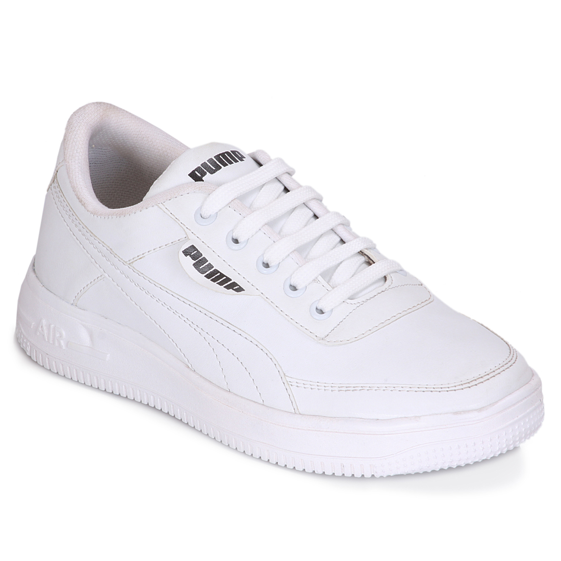 IMCOLUS372A.351_WHITE STYLESH & FANCY Casual Shoes SHOE FOR MEN'S IMCOLUS372A.351_WTE (WHITE, 7-10, 4 PAIR)