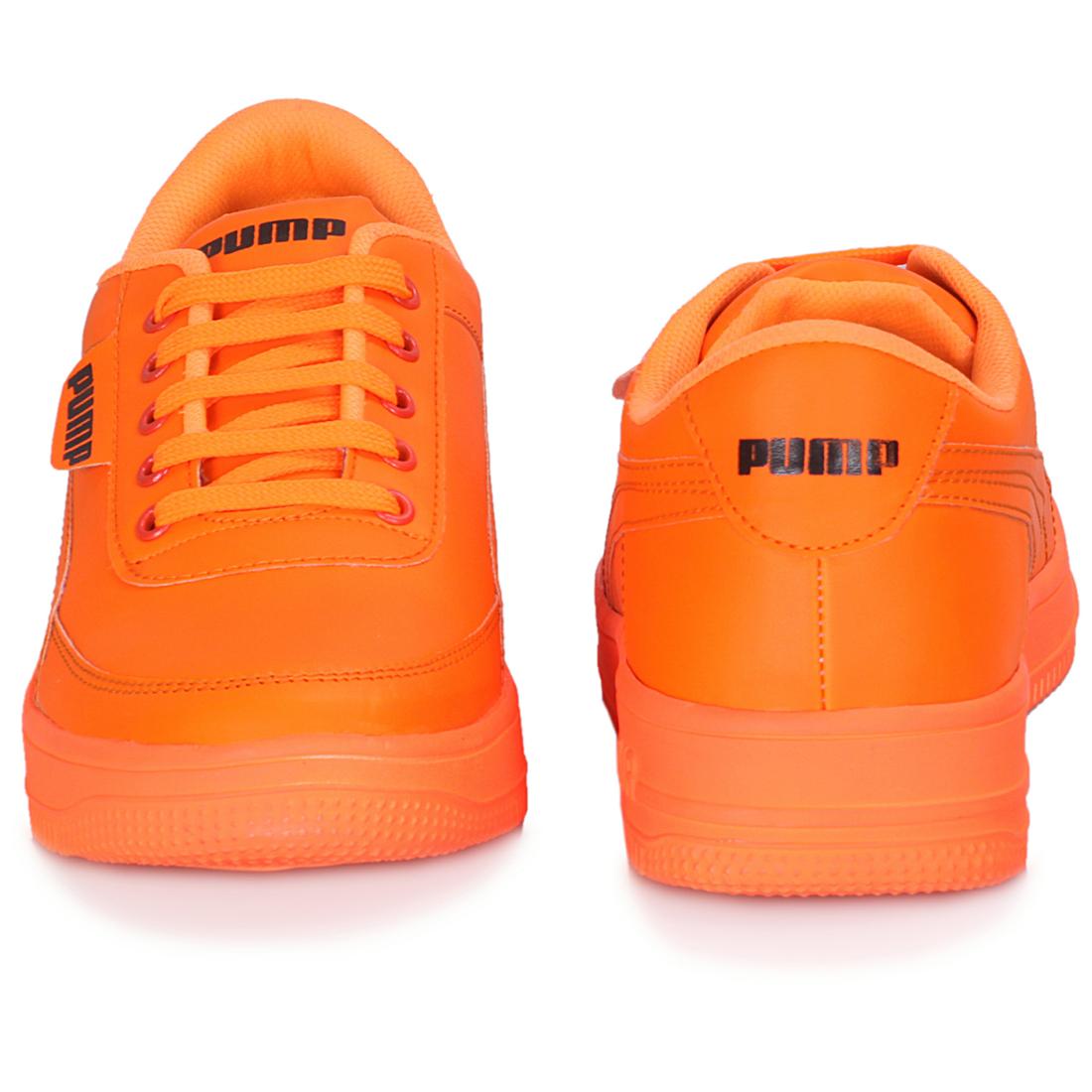 IMCOLUS374A.351_ORANGE STYLESH & FANCY Casual Shoes SHOE FOR MEN'S IMCOLUS374A.351_OR (ORANGE, 7-10, 4 PAIR)