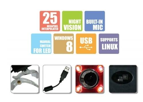 Zebronics Crystal Plus Webcam