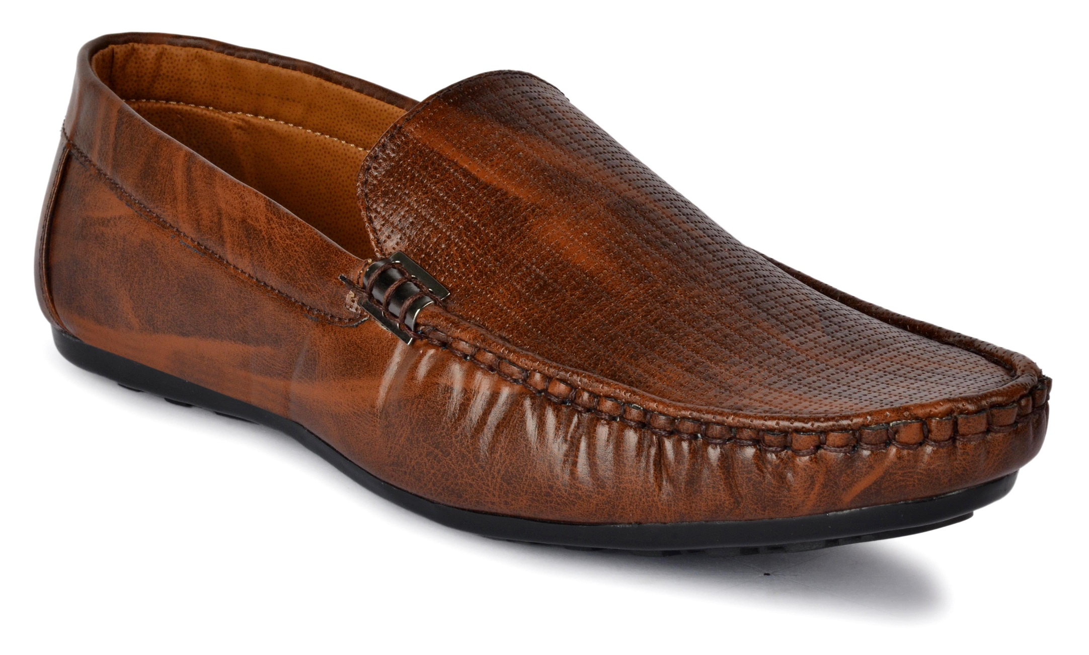 MONACHI COMFORTABLE STYLISH TRENDY & FASHIONABLE LOAFERS  MLOAFER.BROWNH (BROWN,6-9,4 PAIR)