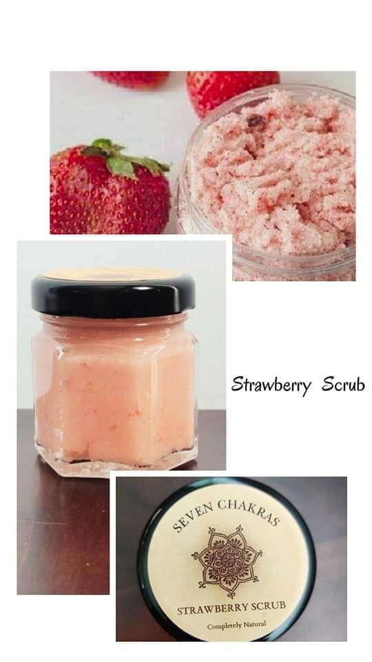 Seven Chakra Strawberry Scrub (100 gm)