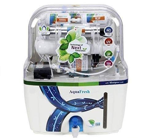 Aquafresh Aqua Swift Ro+Uv+Uf+Tds With Latest Mineral Cartridges 15 Ltrs Water Purifiers