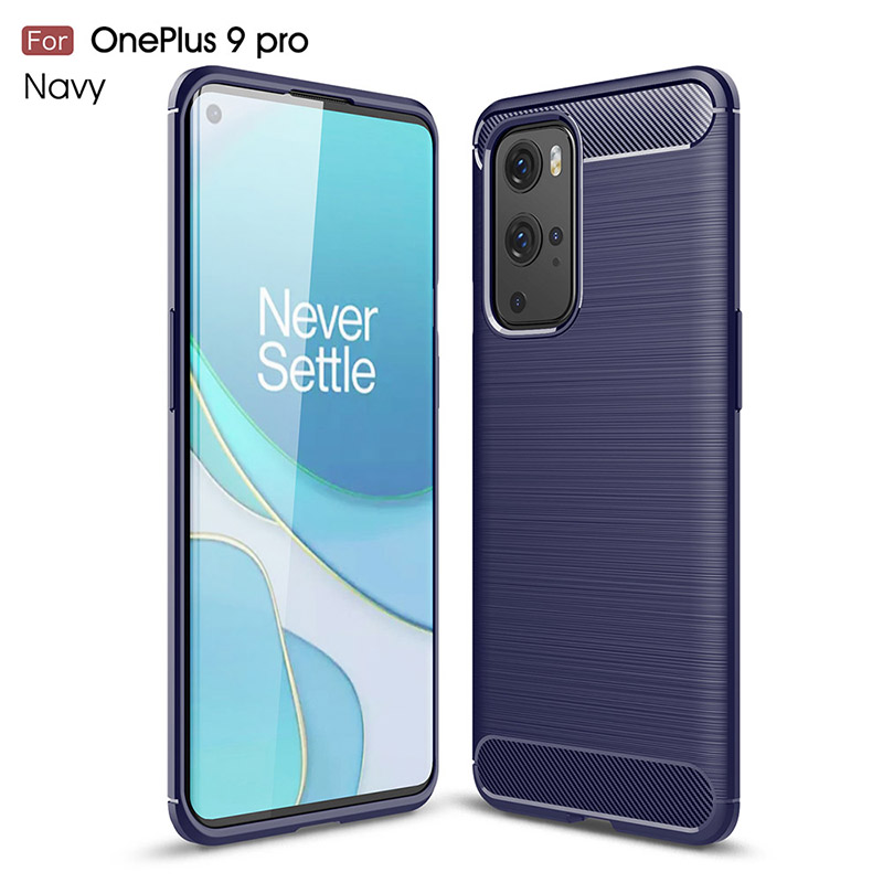 Premium TPU Soft Back Cover For OnePlus 9 Pro (Red)