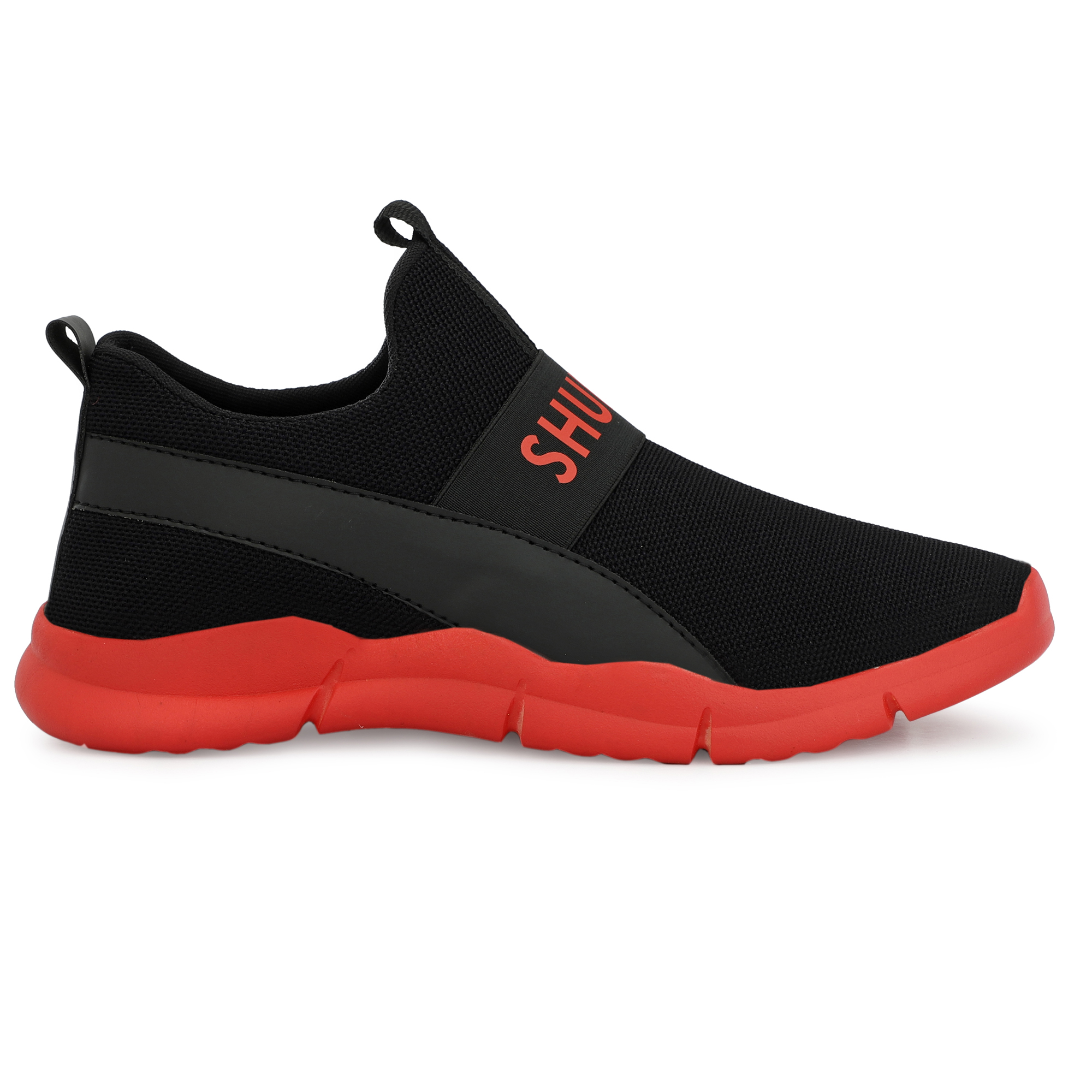 SURAB Present Premium Quality Men's Sports Shoes MSG_055_Red (Red, 6-10, 8 PAIR)