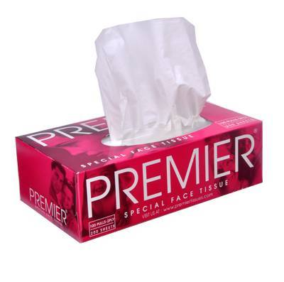 Premier Tissue Box Facial Tissue