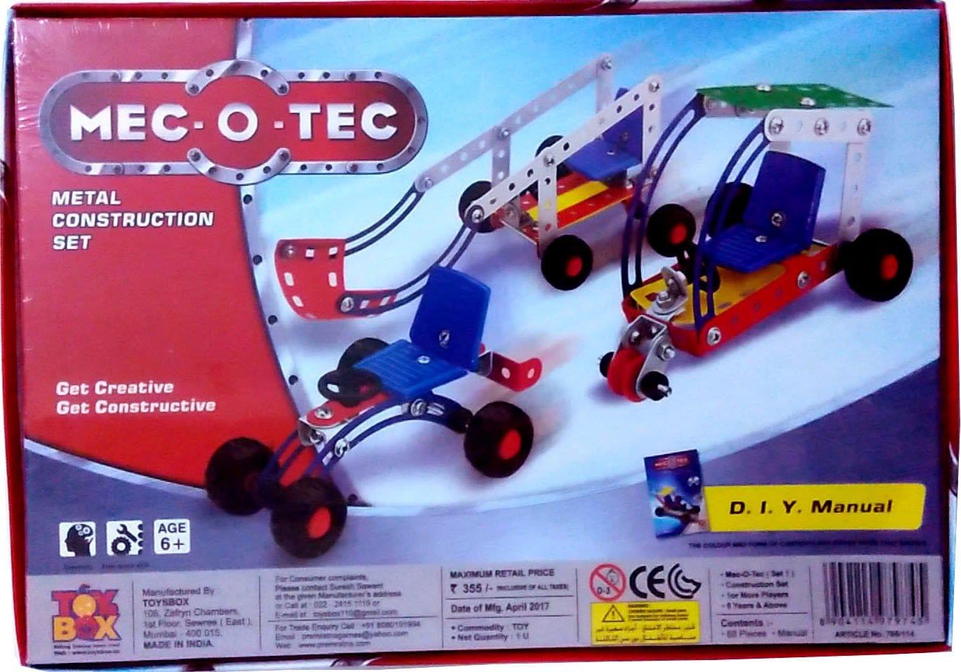 Mec O Tec Set - 1 (Metal Construction Set)