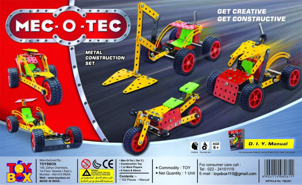 Mec O Tec Set - 2 (Metal Construction Set)