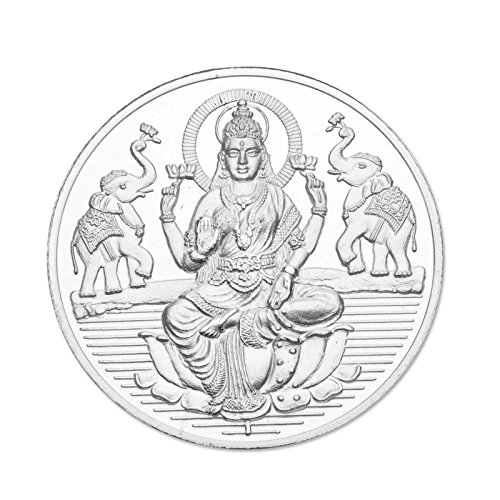 Maa Silver 5gm Laxmi Silver Coin 999 Purity